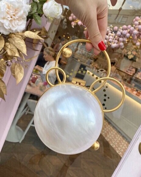 Pearl Luxury Designer Clutch