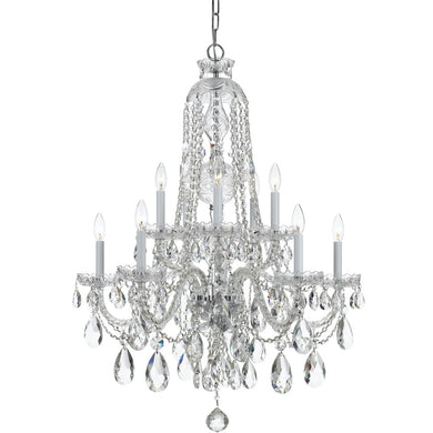 traditional crystal chandelier light