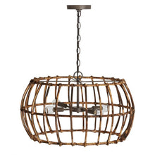 Load image into Gallery viewer, Rattan Pendant