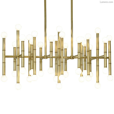 Meurice Rectangular 42-Light Chandelier