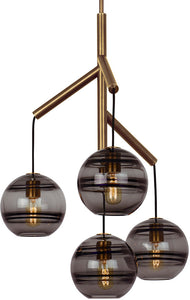 orb chandelier light