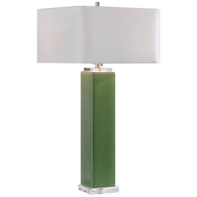 Tropical Green Table Lamp