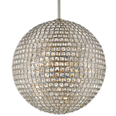 Crystal Orb Chandelier Pendant Light