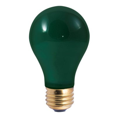 Ceramic Colored Light Bulb - Green