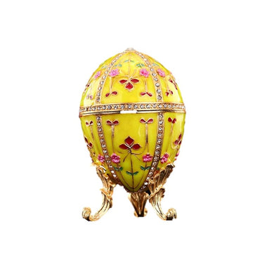 Yellow Faberge Egg