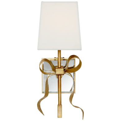 Ellery Gros-Grain Bow Small Sconce