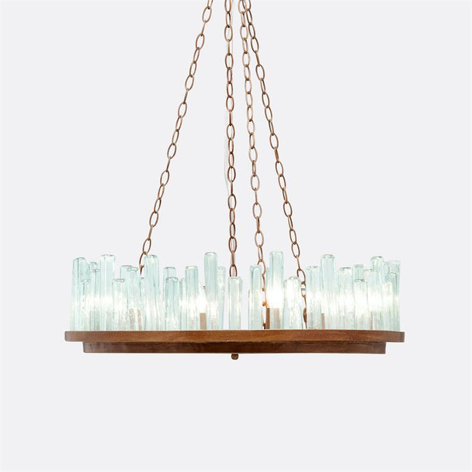 Glass Tube Chandelier light