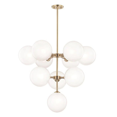 GLOBE CHANDELIER LIGHT FIXTURE