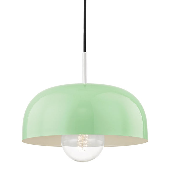Modern mint green pendant light
