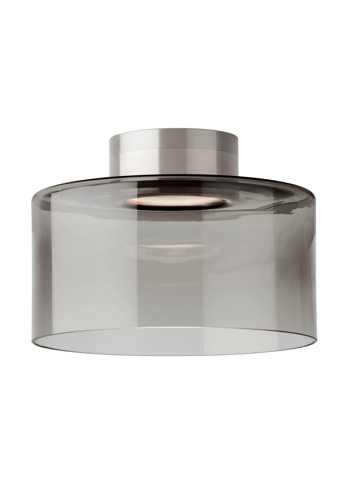 Smoke glass LED Flush Mount light