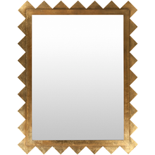 Load image into Gallery viewer, Contemporary Gold  Mirror