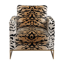 Load image into Gallery viewer, Tiger print Chair