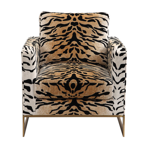 Tiger print Chair