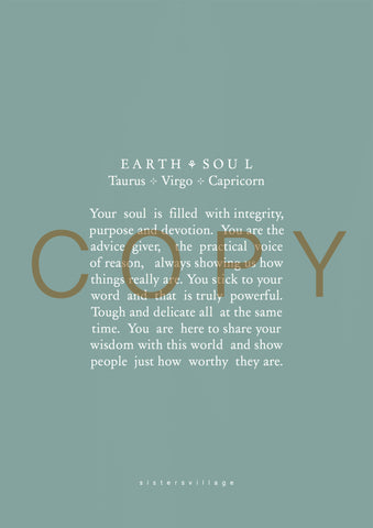 The soul of Earth