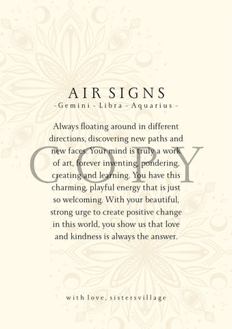 AIR SIGN DIGITAL PRINT
