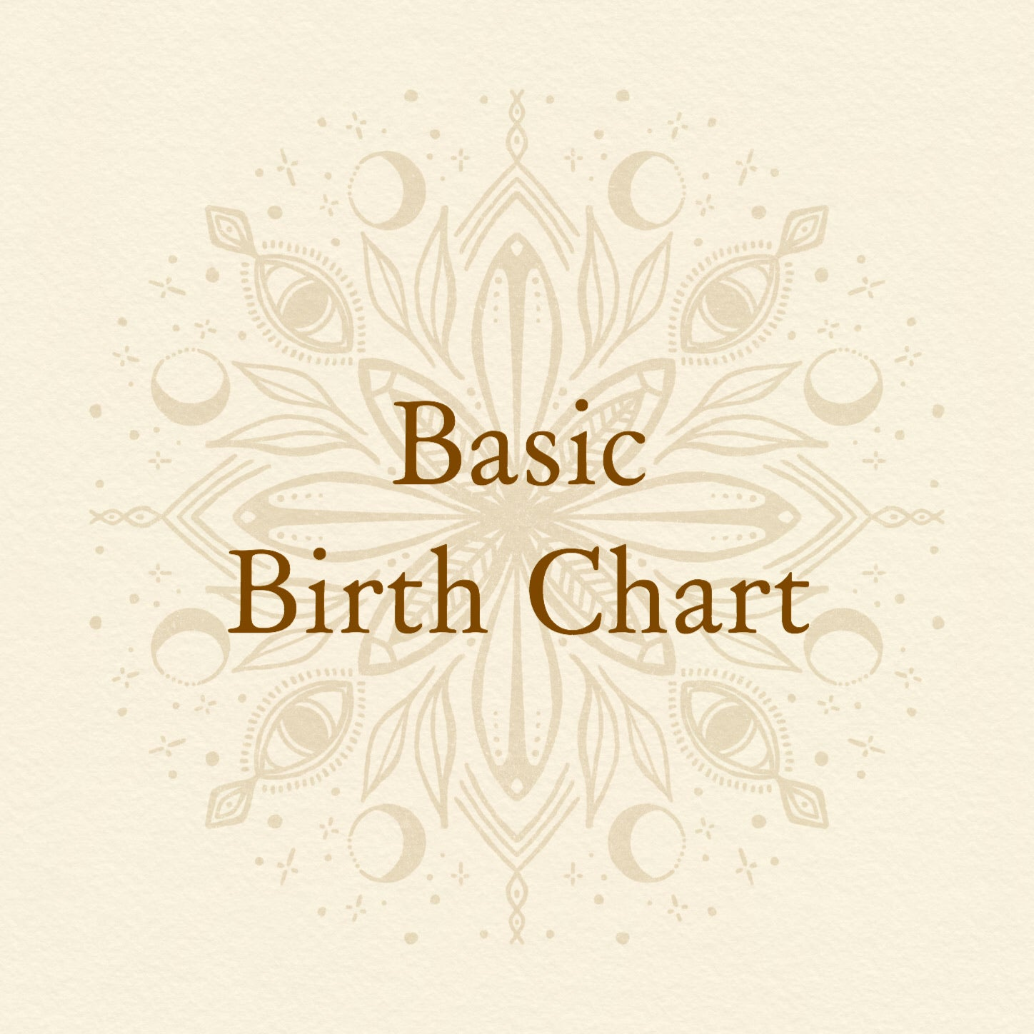 Basic Birth Chart Reading