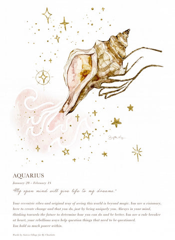 Aquarius A4 Digital Print