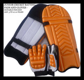 JUNIOR CRICKET BATTING KIT - BATSMAN BATTING PADS AND GLOVES PROTECTION GEAR