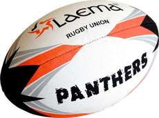 5X PANTHERS RUGBY-High Abrasion Advance PIN GRIP 4 PLY Union Match Ball - Size5