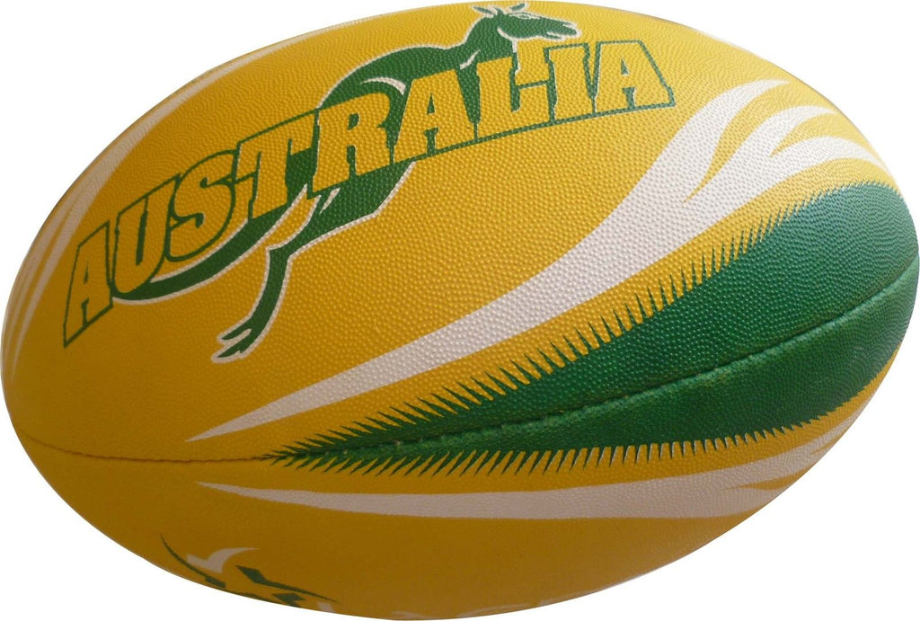 NRL ADVANCE PIN GRIP 3PLY RUGBY LEAGUE BALL SIZE 5 - CLR
