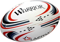 10 X Warrior-Hi-Tech Pin Grip 4PLY Rugby Union OzTag Touch Match Ball Size 3,4&5