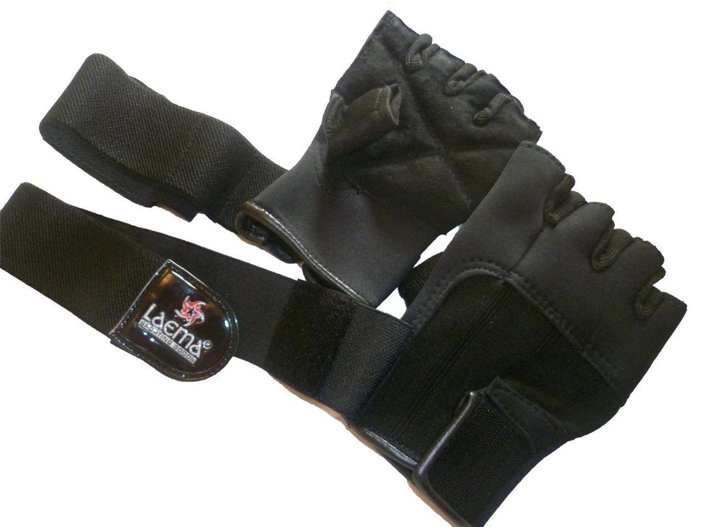 Auth Pro Neoprene GEL Gym Body Building Gloves Workout Straps Bar- REDUCED 80%