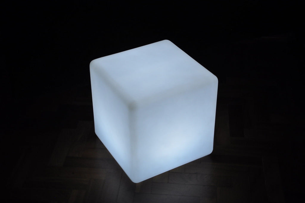 UNIQUE LUNA Designer MOOD Light Indoor Outdoor LED Rechargeable CUBE 40