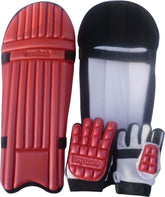 JUNIOR Cricket BATTING KIT Children Kids-BATSMAN PADS AND GLOVES PROTECTION GEAR