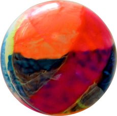 BRAND NEW SMOOTH RAINBOW COLOR PLAIN PVC HOCKEY BALL MATCH PLAY