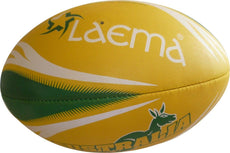 ADVANCE PIN GRIP AUSTRALIAN KANGAROO NRL RUGBY LEAGUE UNION TOUCH BALL SIZE 5