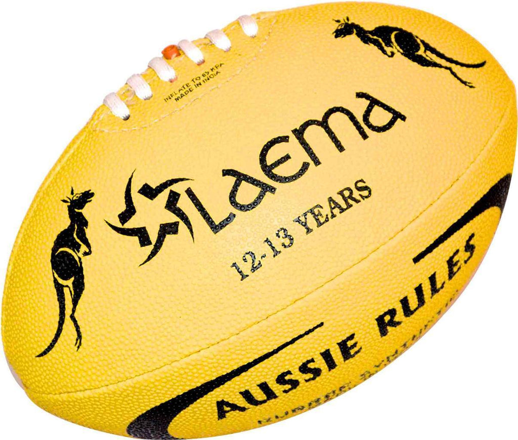 Advance Aussie Rules Football HiTech Pin Grip Synthetic Rubber AFL Ball Size 3
