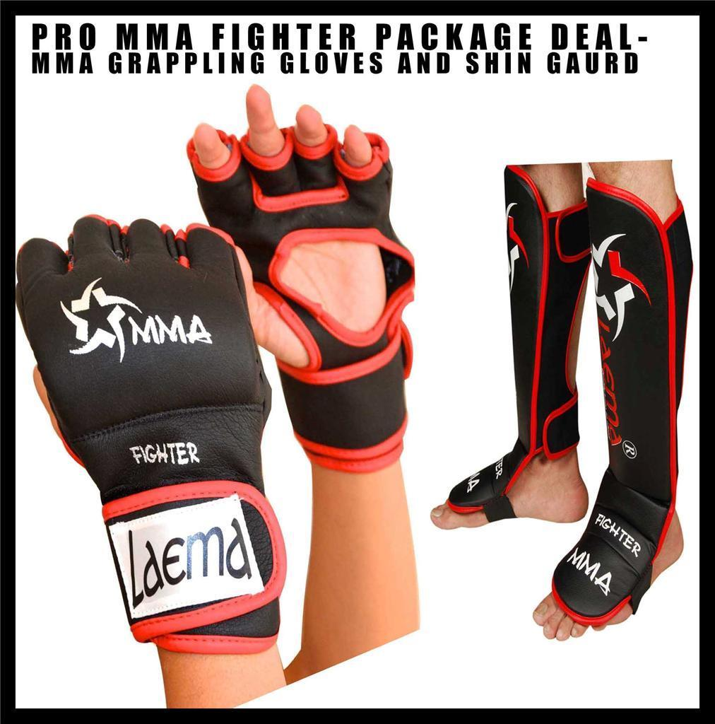 12oz MMA Boxing Gloves Training Mitts Sparring Grappling Gloves UFC Fighting XL