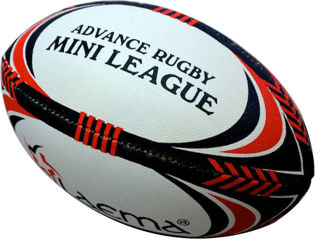 2 XPRO Junior NRL Hi-Tech Ultra PIN GRIP 4PLY Rugby Mini League Match Ball Size3