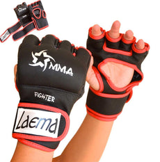 Pro Style MMA UFC Training Grappling Gloves Fight Muay Thai Boxing Punch Bag Gym