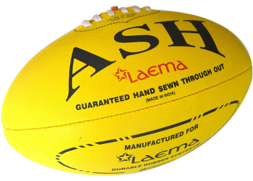 Pro Advance Synthetic Rubber Pin Grip HiTech AFL Australian Rules Footy Ball S-5