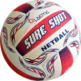 5X New High Abrasion NETBALL Pin Grip Natural Rubber Ball Sure Shot- Size 5