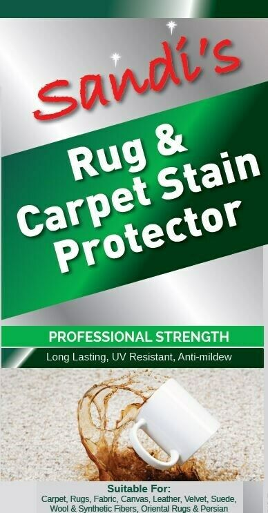 SANDI'S RUG & CARPET STAIN PROTECTOR - PRO STRENGTH - 400 gms CAN