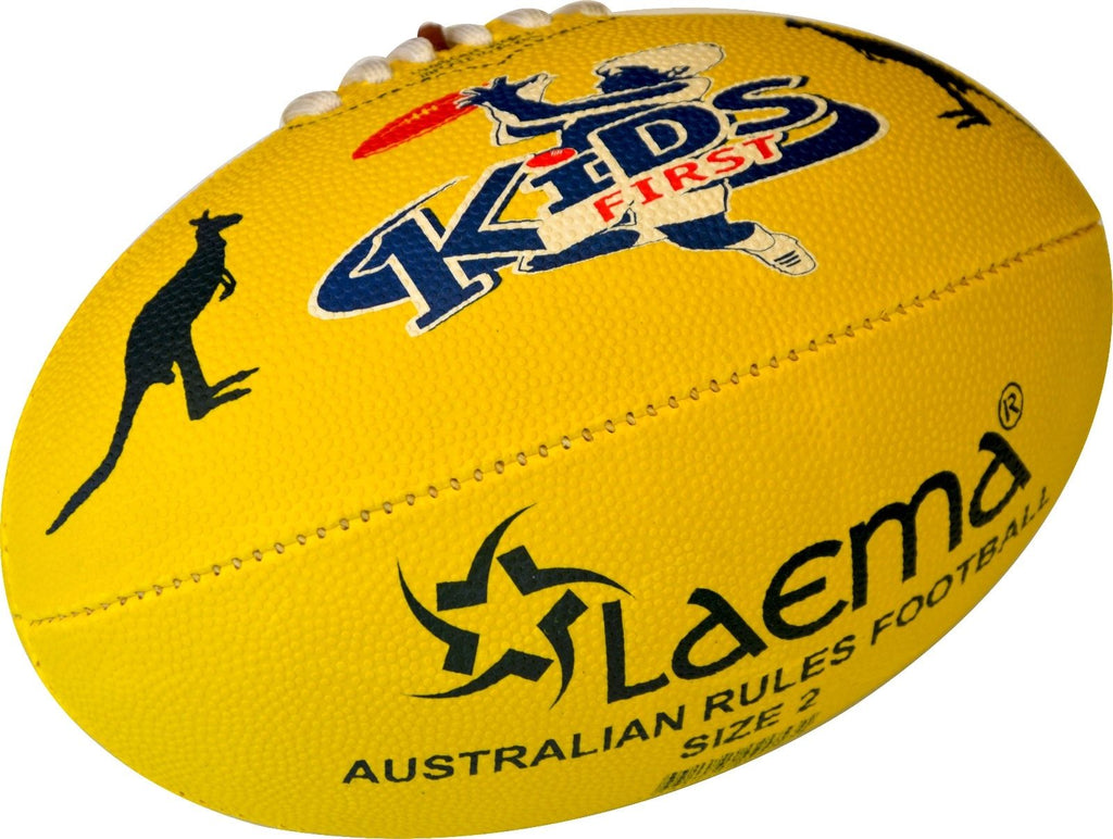 JUNIOR AFL Hi-Tech Advance PIN GRIP AUSTRALIAN RULES FOOTY Ball Size 1 AND 2 -US