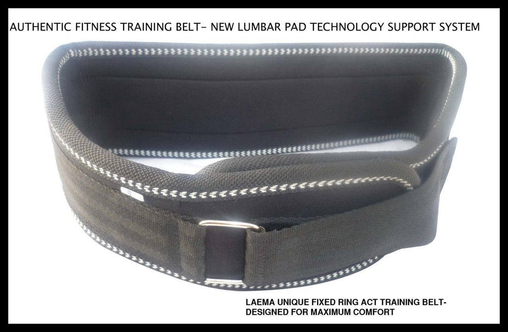 PRO UNIQUE DESIGN PADDED- FITNESS TRAINING WEIGHT LIFTING BELT GYM BACK SUPPORT