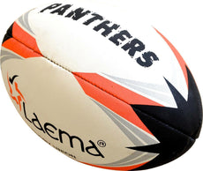 PANTHERS RUGBY-High Abrasion Advance PIN GRIP 4 PLY Rugby Union Match Ball Size5