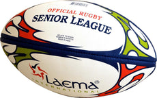 2 X SENIOR LEAGUE NRL Hi-Tech Advance PIN GRIP 4 PLY Rugby Match Ball Size 5