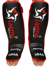 Advance Gel Shin Instep Foot Pads MMA UFC Leg Kick Guards Muay Thai Boxing - US
