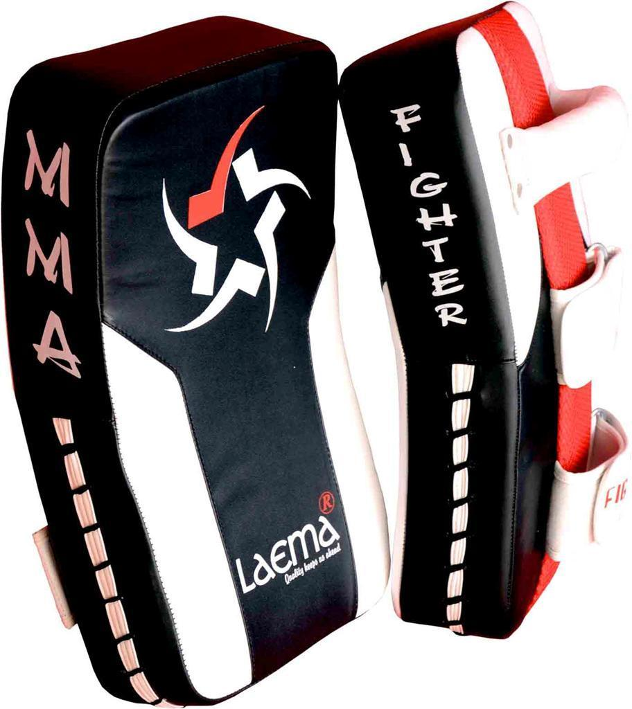 Pro Thai Kick Boxing Strike Curved Arm Pad Muay UFC Gym MMA Focus Punch Shield