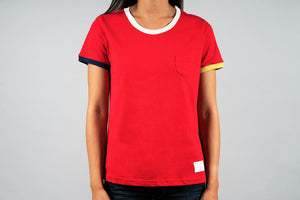 Red Sports Tee