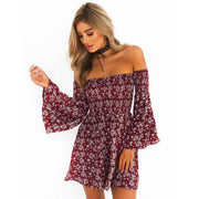 Off Shoulder Flare Sleeve: 2018 Summer Collection