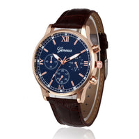 2016 XINIU Relogio Masculino Casual Fashion Watch For Men PU Leather