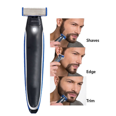 Micro Touch SOLO Rechargeable Personal Hair Cleaning Shaver Trimmer For Men