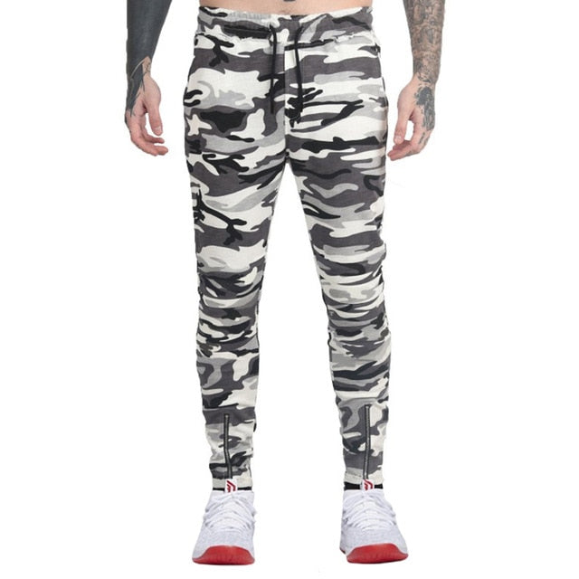 Camouflage Motorcycle Denim Biker Jeans Men Slim Elastic Jeans Hip Hop Washed 2018 New Arrival High Quality