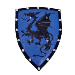 Dragon Pterosaur Medieval Battle Shield for Re-Enactment LARP and Halloween Party Cosplay