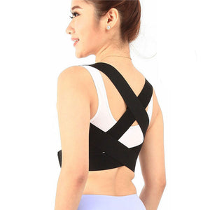 New Adjustable Posture Corrector Back Support Belt Shoulder Bandage Corset Back Pain Relief Orthopedic Lumbar Men/women